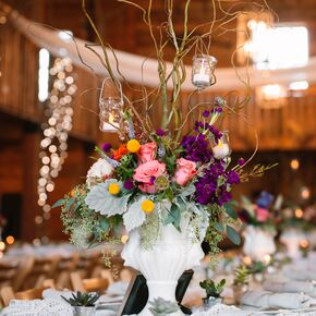 Oversize Colorful Branch Billy Ball Lamb S Ear Centerpieces