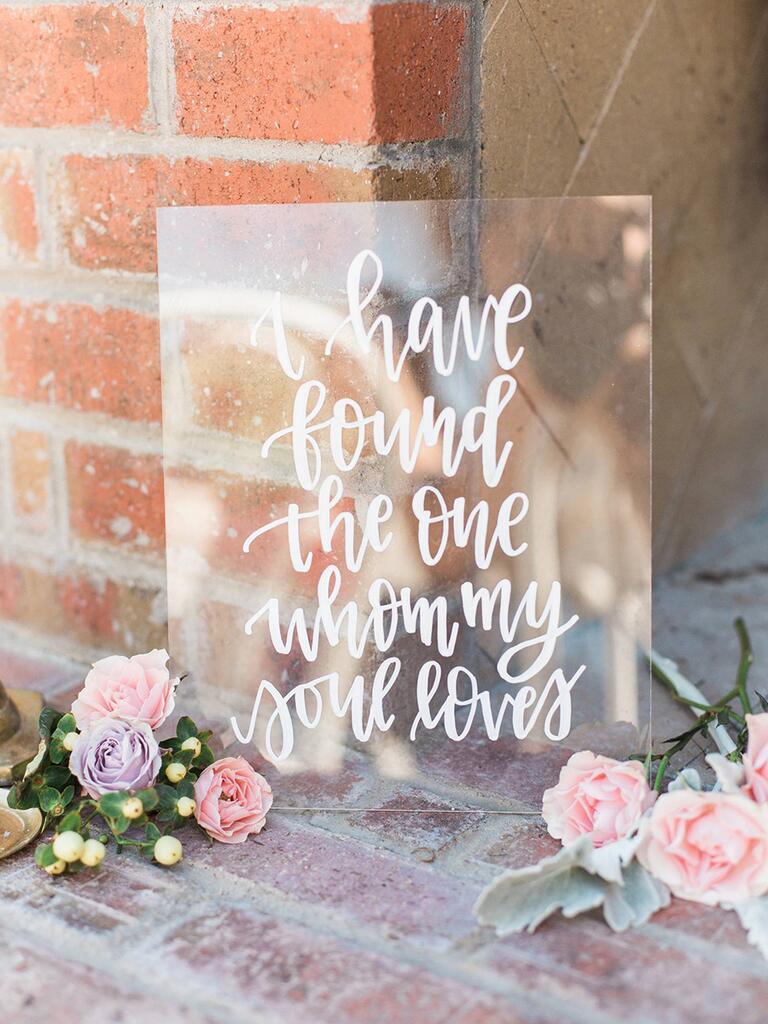 Wedding love quote