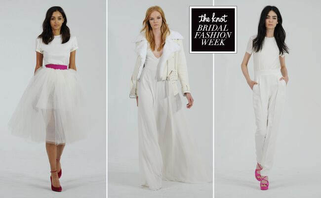 Houghton 2015 Wedding Dresses Channel Carrie Bradshaw for Fall