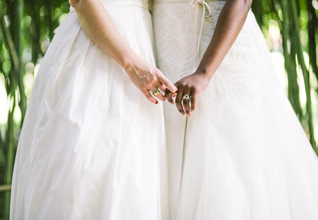Photo: Love Me Do Photography // Featured: The Knot Blog