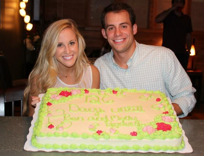 Our Engagement Party Cake!