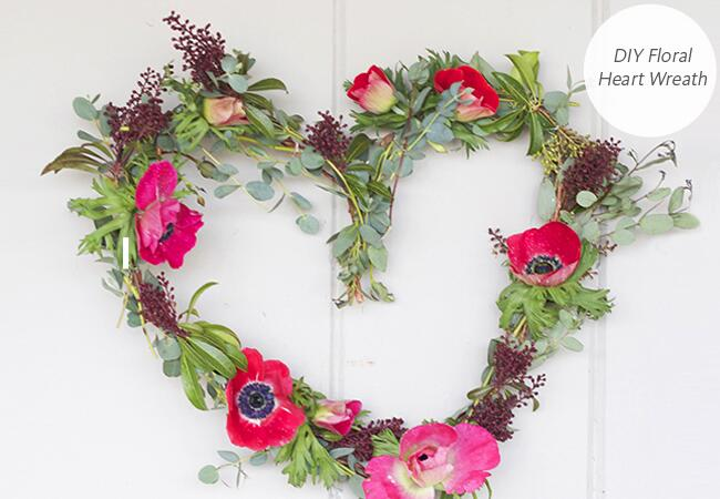 DIY wedding projects with hearts: The Glitter Guide / TheKnot.com