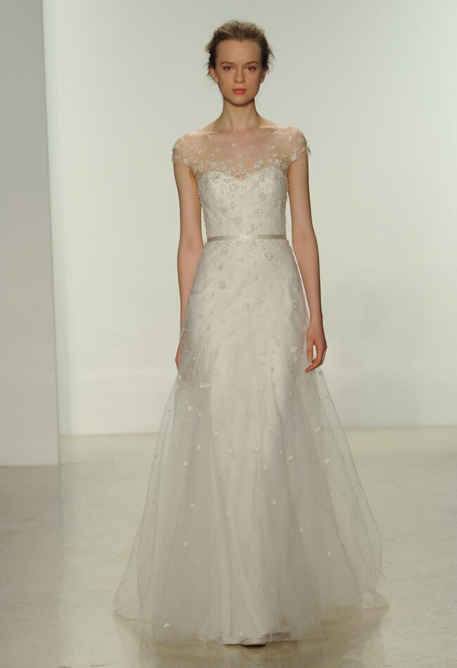 Christos Spring 2015 wedding dress | Kurt Wilberding | The Knot blog