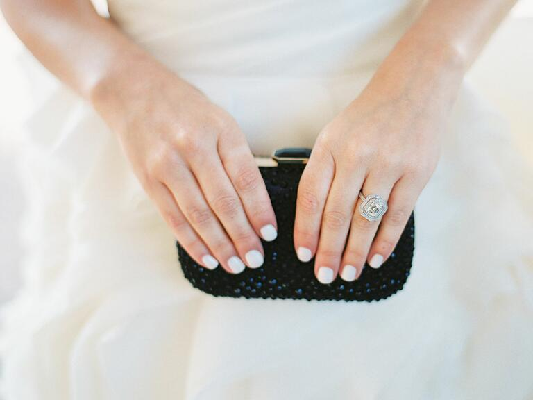 Ring and bridal clutch