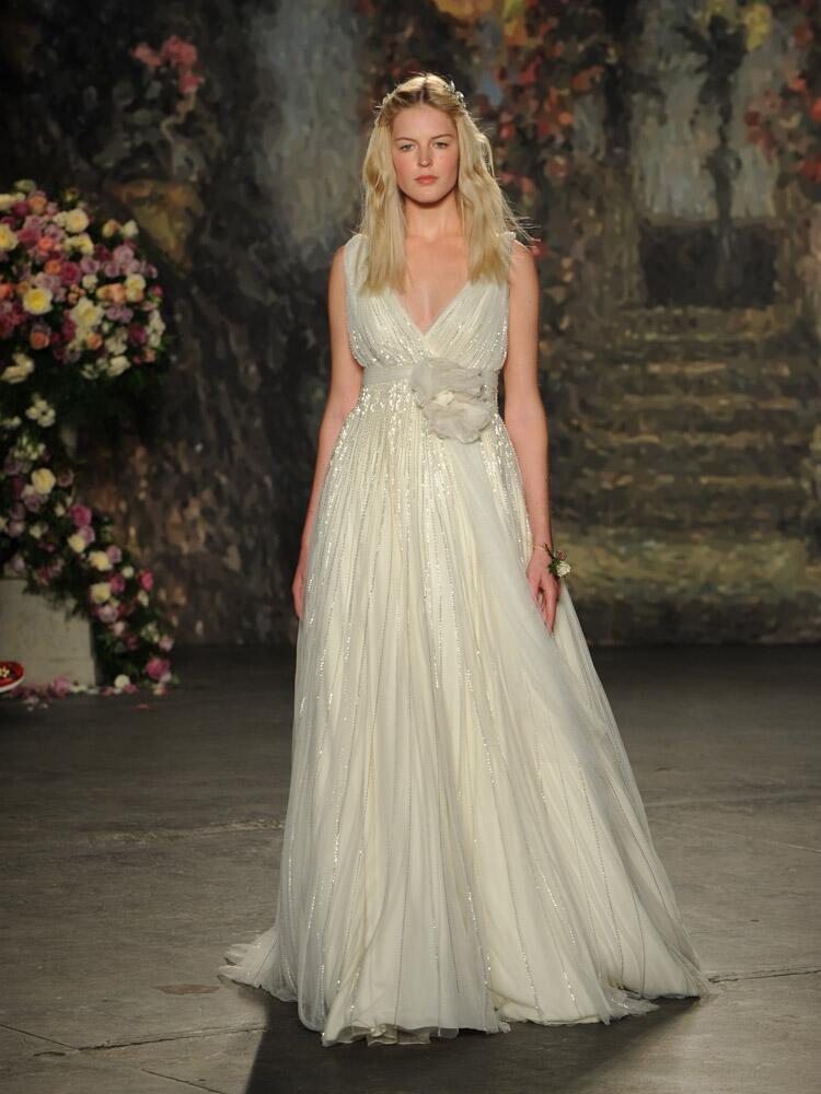 Jenny packham debuts wedding dress collection for bridal for Jenny beckman wedding dresses
