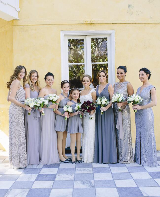 Mismatched Bridesmaid Dresses Are The New Hot Bridal Party Trend