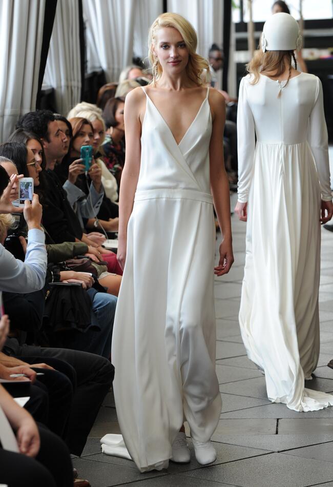 Delphine Manivet Fall/Winter 2015 Wedding Dresses | Kurt Wilberding | blog.theknot.com