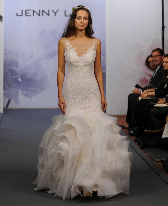 Jenny Lee Fall 2014 Wedding Dreses