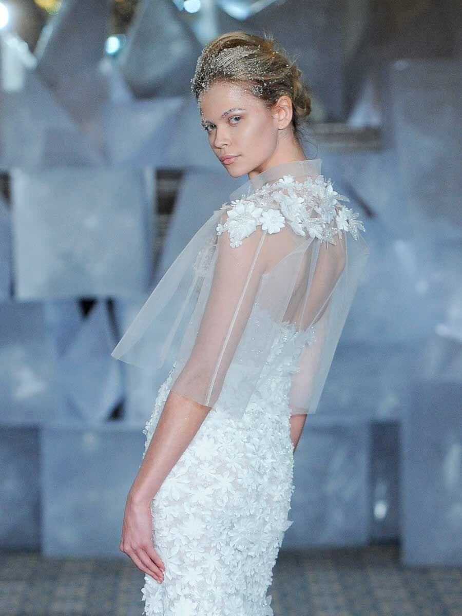Mira Zwillinger Spring 2019 Collection: Bridal Fashion Week Photos