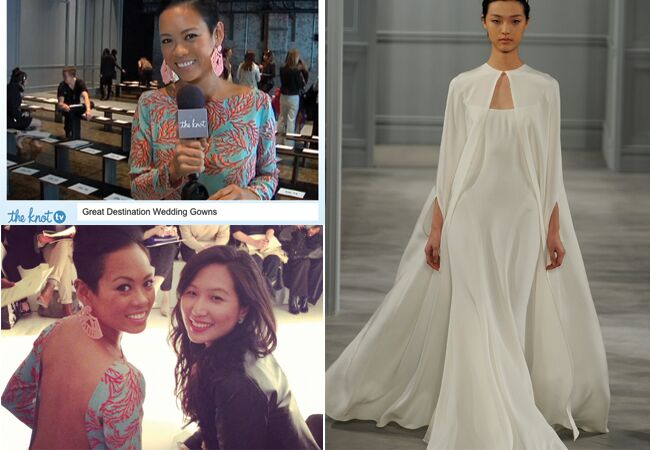 4 Hot Destination Wedding Dresses Selected By Project Runway