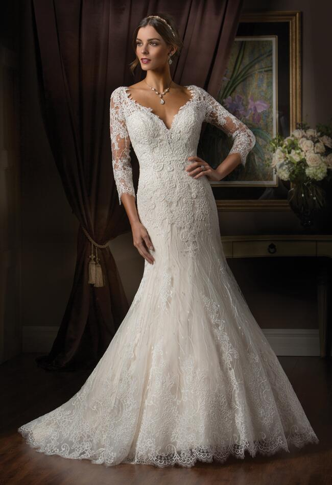 Hollywood Glamour Wedding Dresses : Couture wedding dresses reference old hollywood glamour for fall