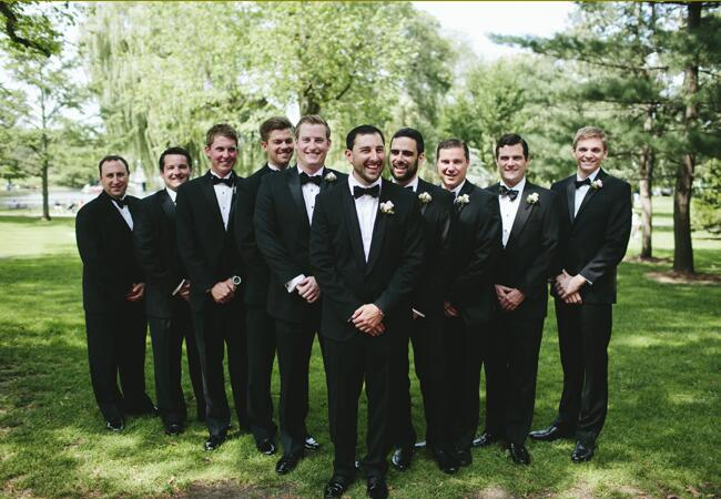 groomsmen formalwear | Lime Green Photography | blog.theknot.com