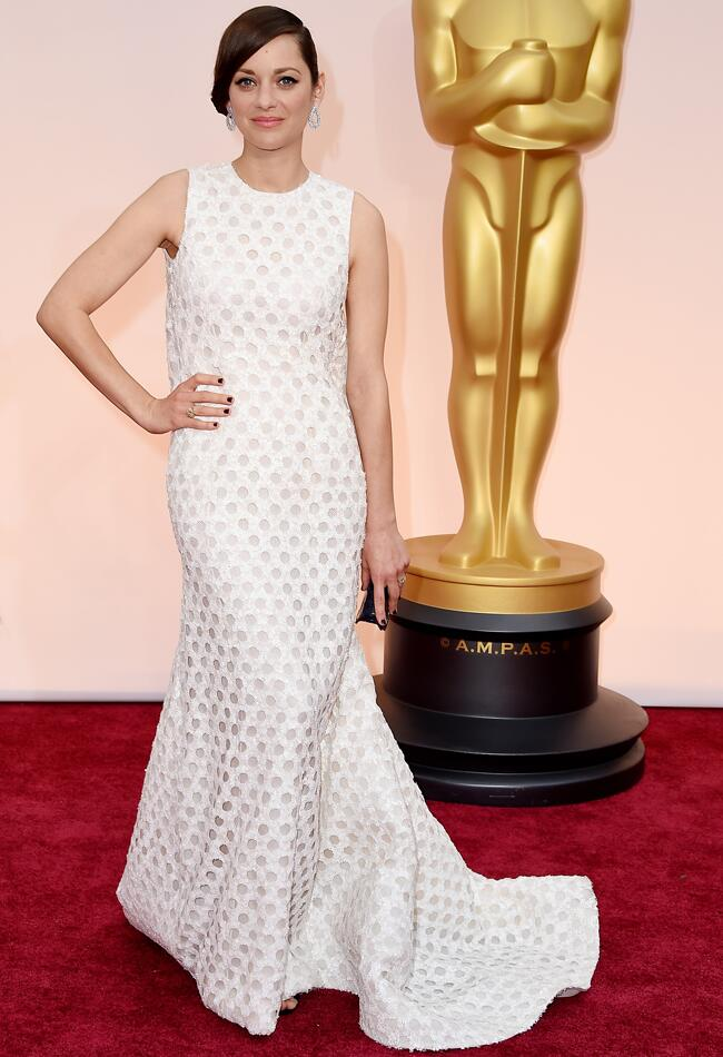 Marion Cotillard at the 2015 Oscars