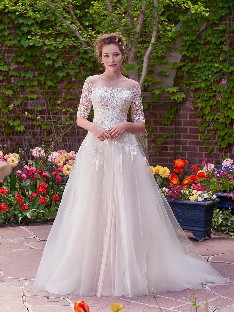 Rebecca Ingram Fall 2017 Bridal Fashion Week Photos