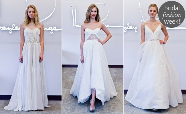 Blush by hayley paige fall 2014 wedding dresses junglespirit Images