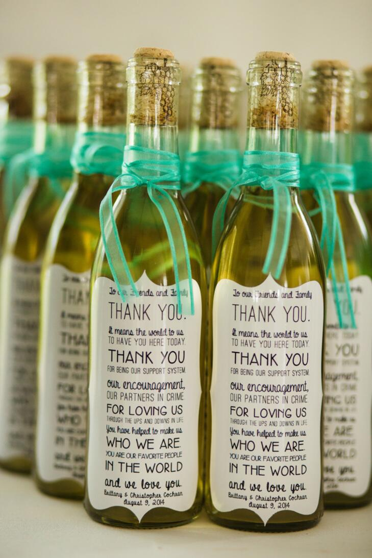 Wine Thank You Notes