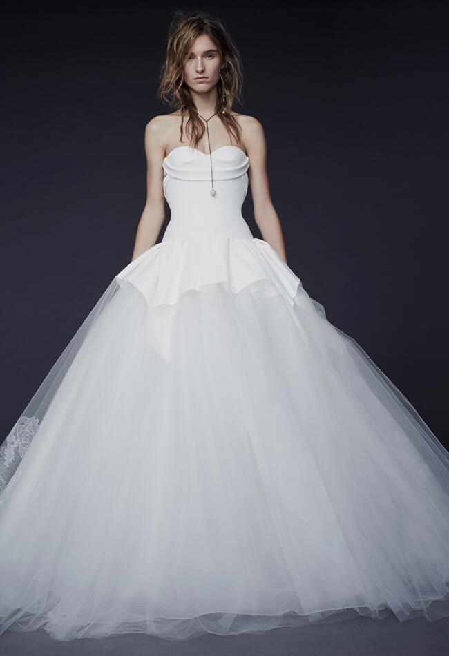 vera wang wedding dresses fall 2015 bridal fashion week