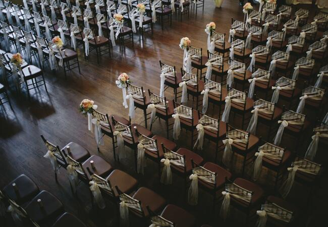 ceremony chairs | Lime Green Photography | blog.theknot.com