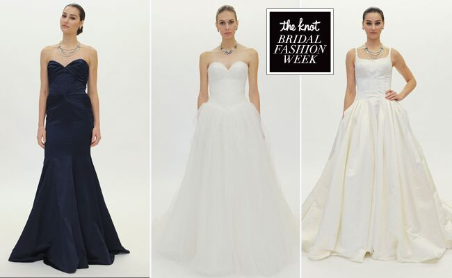 Truly Zac Posen S Wedding Dress Collection Featured Timeless