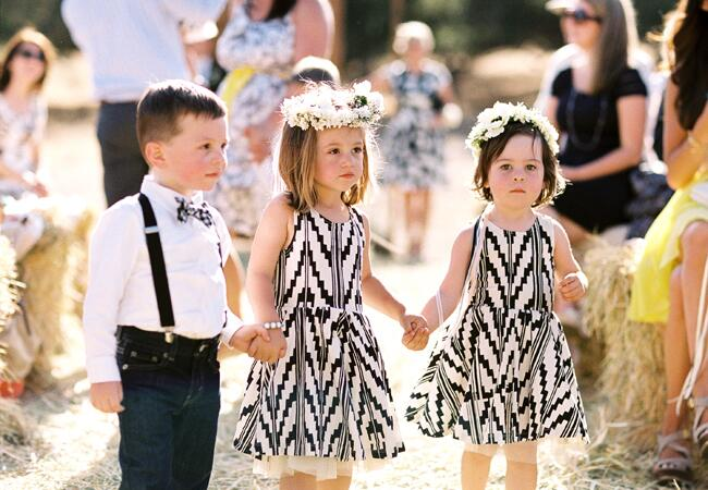 10 Stylish Flower Girl Looks|Braedon Photography|blog.TheKnot.com