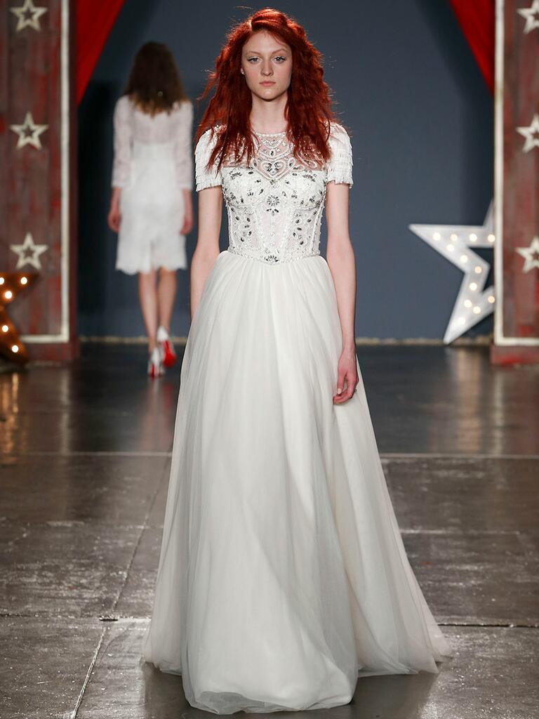 Jenny Packham Spring 2018 Collection Bridal Fashion Week