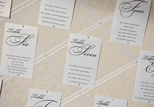 Elegant Card Seating Chart |<img class=