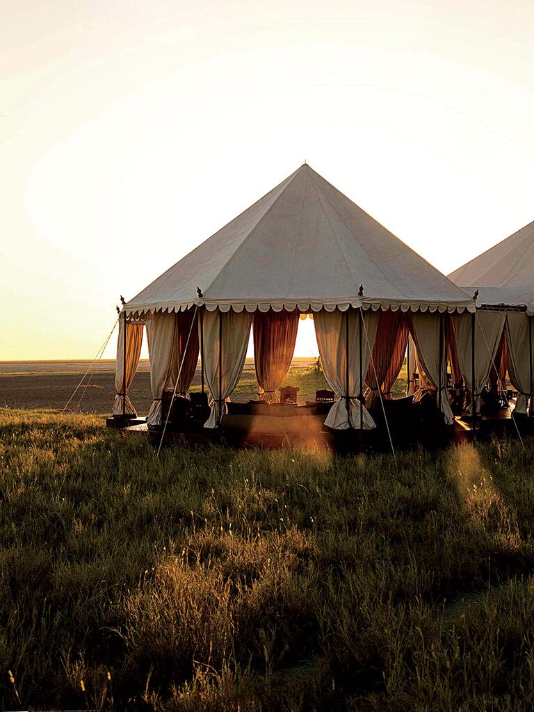 Makgadikgadi Pans, Botswana honeymoon idea