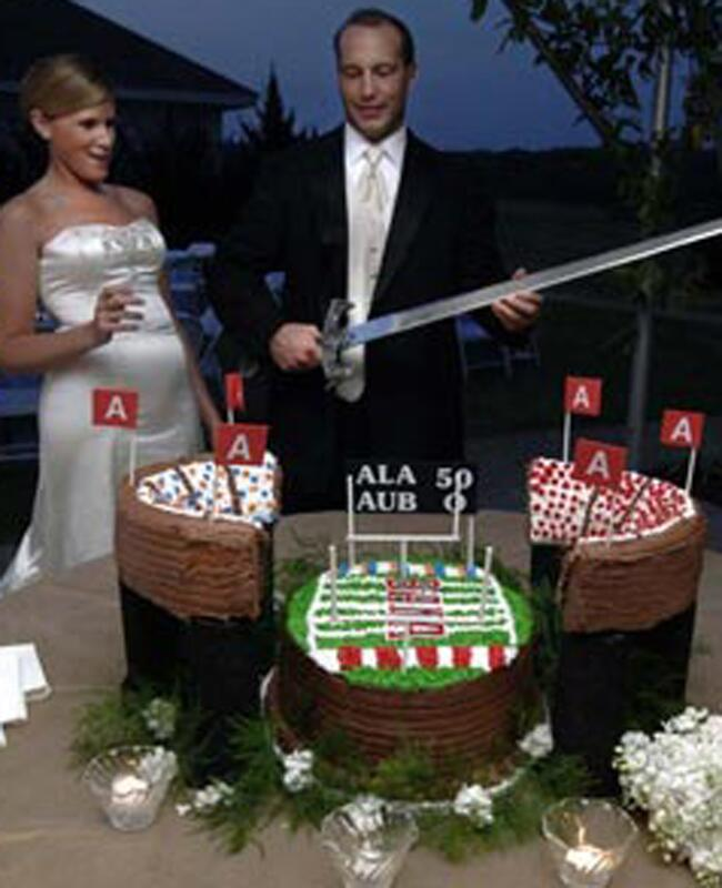 Alabama Stadium Cake