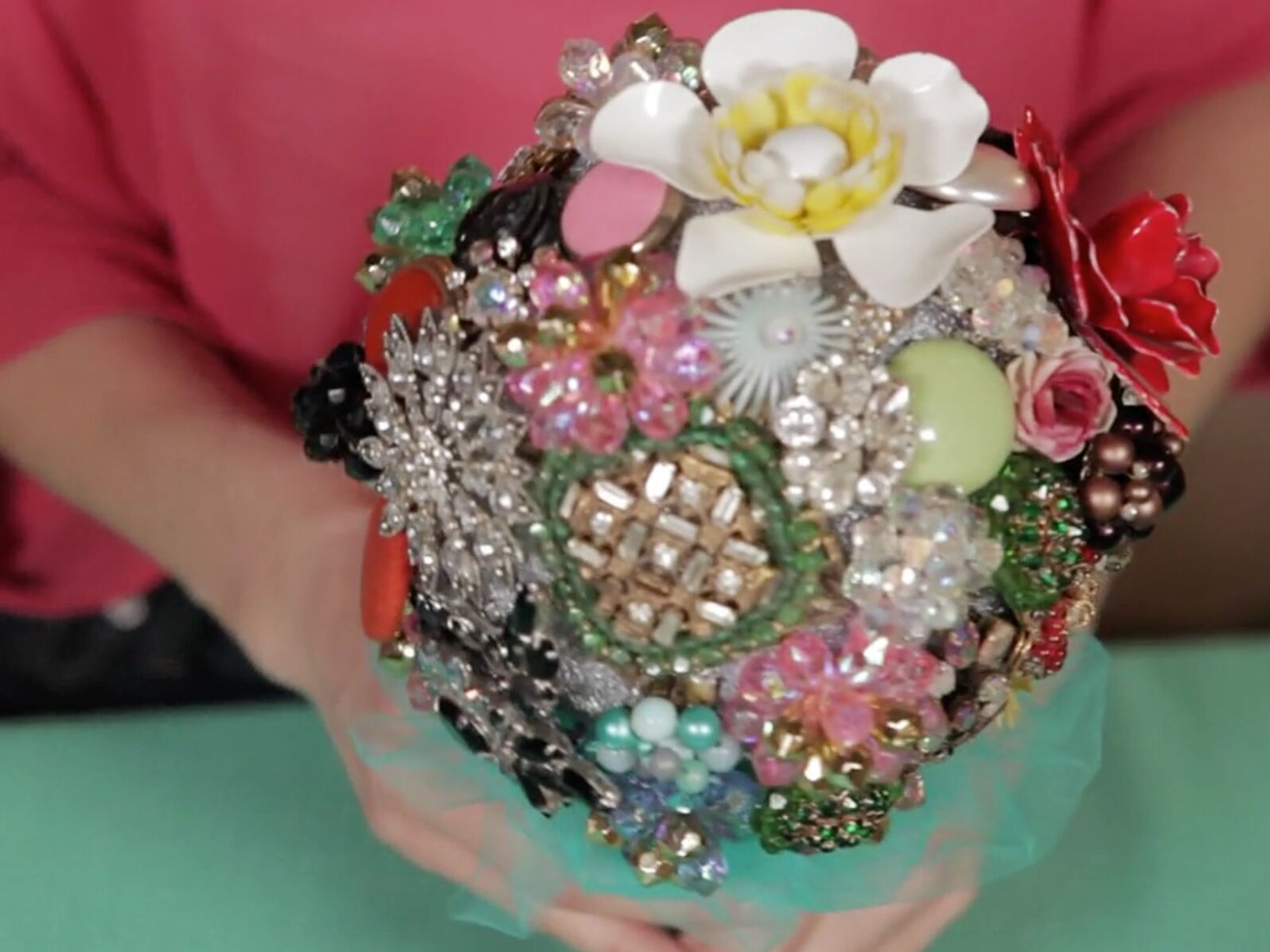 Brooch Bouquet How To Make