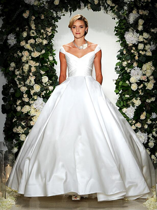 Anne Barge Wedding Ball Gown