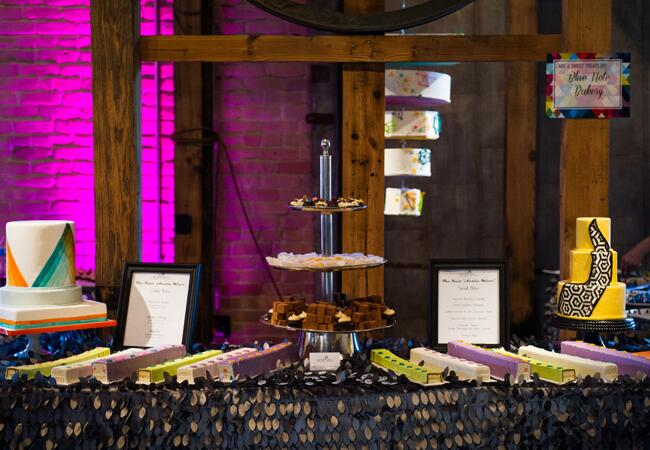 Photo: Cory Ryan Photography // Geometric Wedding Ideas // The Knot Market Mixer in Austin, TX