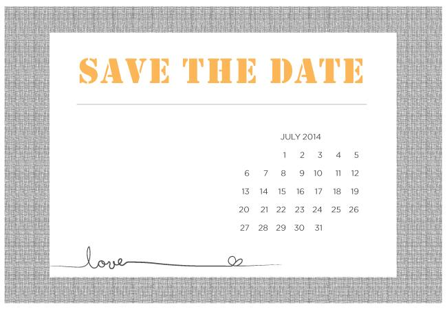 Match your free wedding website to your DIY save the date CW4onavG