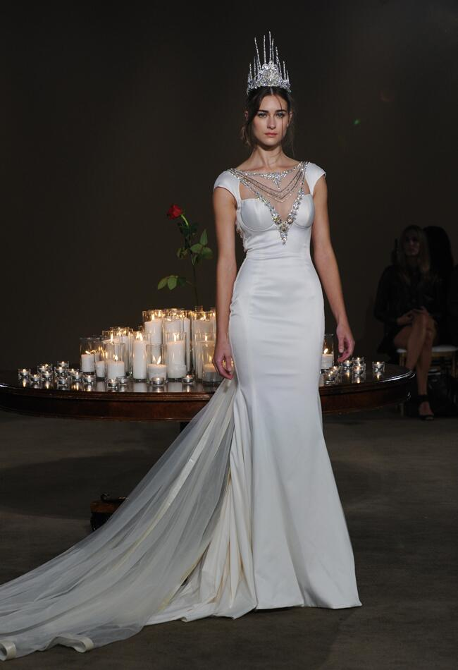 Galia lahav fall 2016 collection wedding dress photos for Medieval inspired wedding dresses