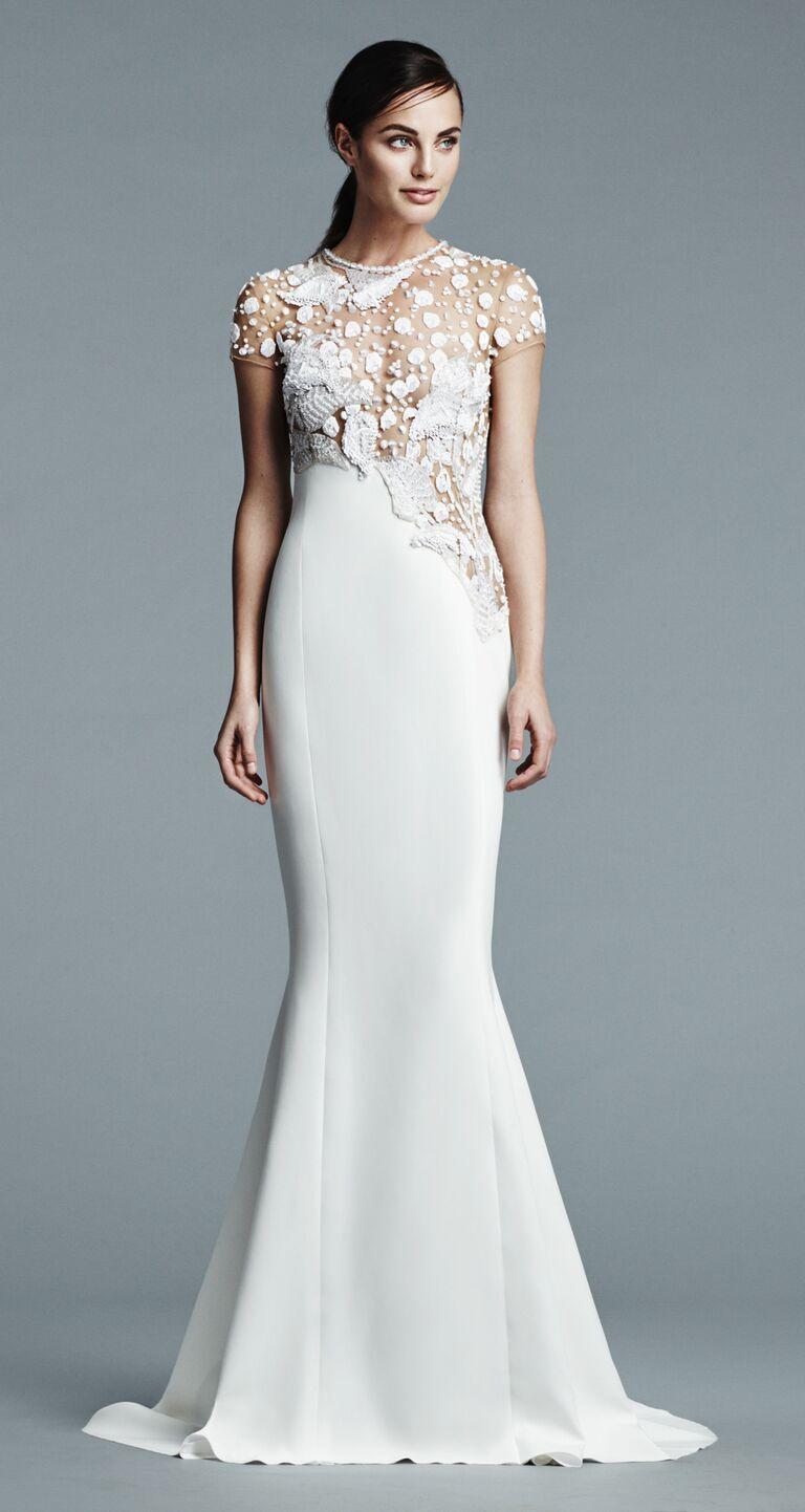 Beautiful Slimline Wedding Dresses Illustration - All Wedding ...