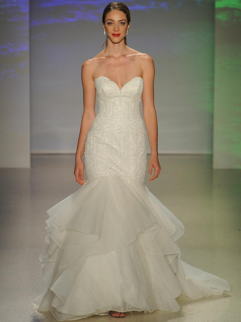 Alfred angelo spring fall 2017 collection bridal fashion for D angelo wedding dresses