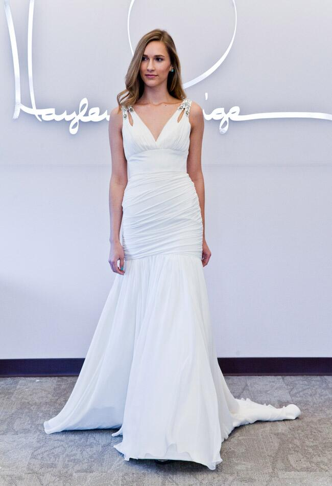 Blush by Hayley Paige Fall 2014 | The Knot Blog