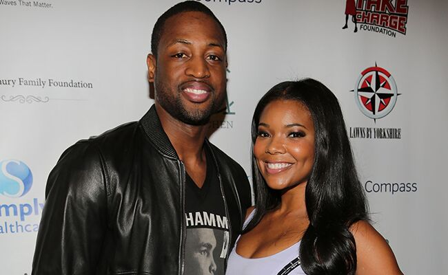 Dwyane Wade Gabrielle Union Save the Date: Getty / TheKnot.com