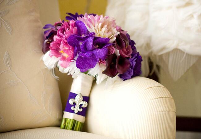 Bouquet: Art de Vie / TheKnot.com