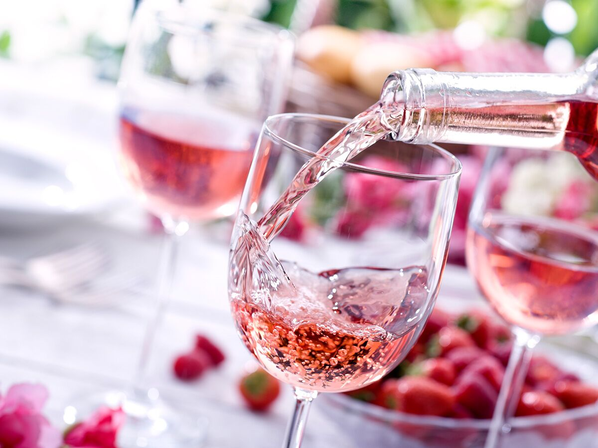 Rosé-Themed Bridal Party Gifts