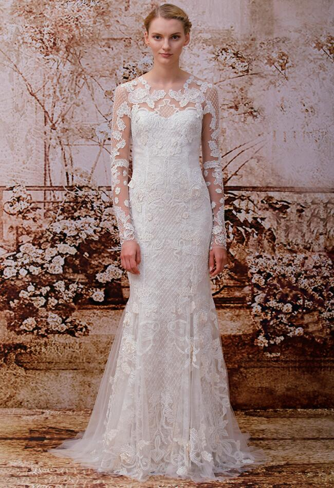 Monique Lhuillier Wedding Dresses Spring 2014/ Reese