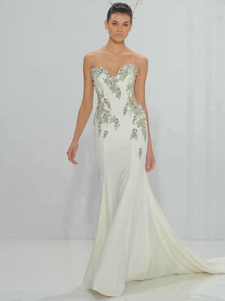 Watch Daring Yet Feminine Wedding Dress Collection By Makany Marta video