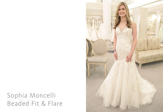 Sophia Moncelli gown/ The Knot blog