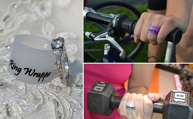 Don T Want To Mess Up Your Engagement Ring Wrap It With A Rubber