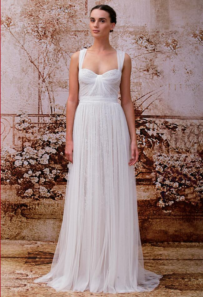 Monique Lhuillier Wedding Dresses Spring 2014/ Maxfield