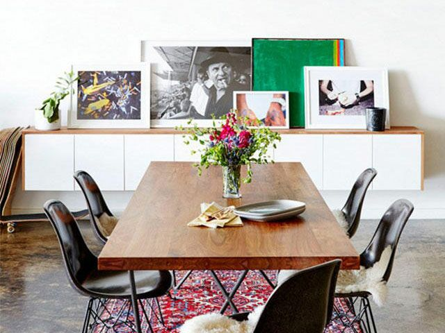 How to Display Art Without Putting Holes in Your Walls