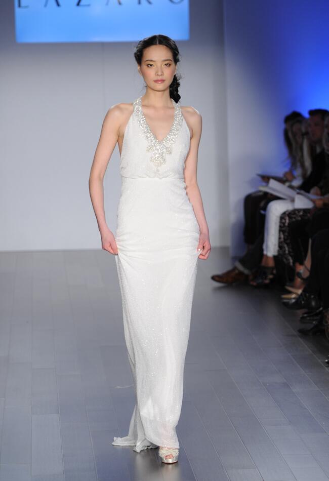 Lazaro Wedding Dresses Spring 2015 | Kurt Wilberding | Blog.theknot.com