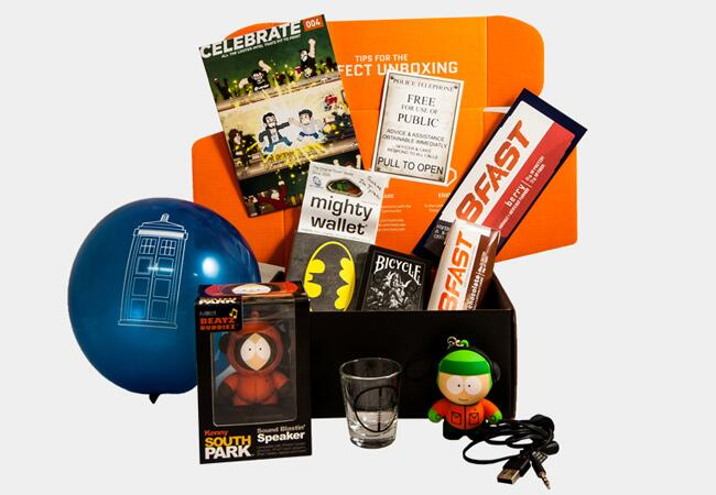 Geek and Gamer Subscription Box