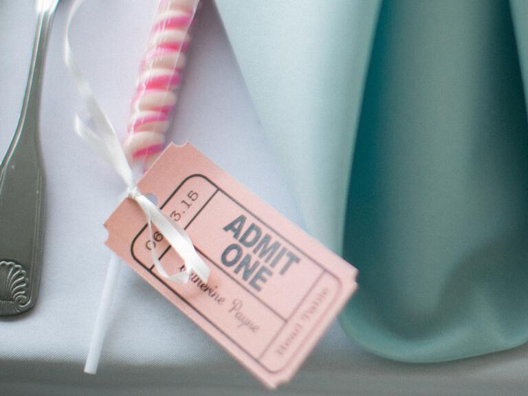 Admit 1 date night bridal shower gift idea