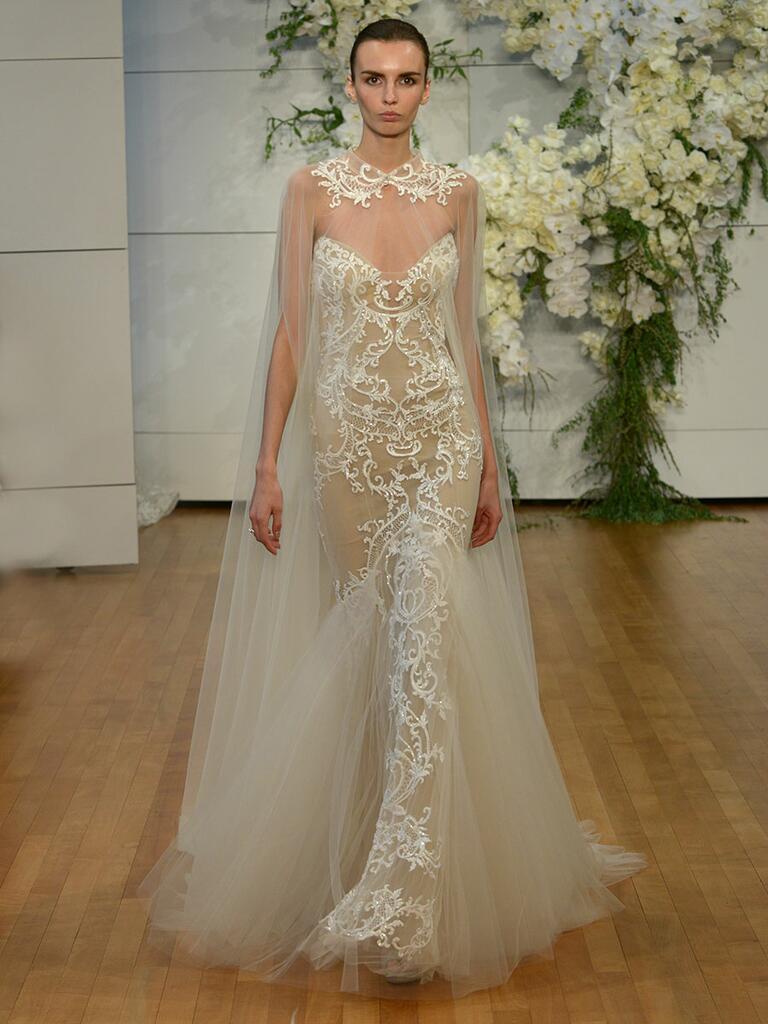 Monique lhuillier spring 2018 collection bridal fashion for Buy monique lhuillier wedding dress