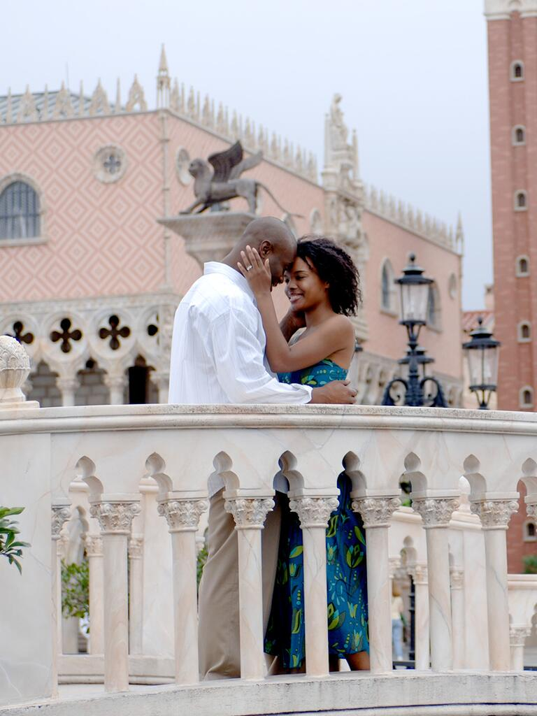 Romantic proposal spot at the Epcot World Showcase, Walt Disney World